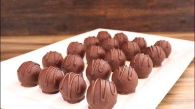 Bounty Balls With 3 Ingredients (Chocolate Coconut Balls Recipe) Cook It Fancy