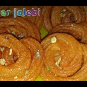 देखते ही मुँह में पानी आ जाए, बनाएं बिलकुल आसान तरीके से ये पनीर जलेबी #*Paneer Jalebi#