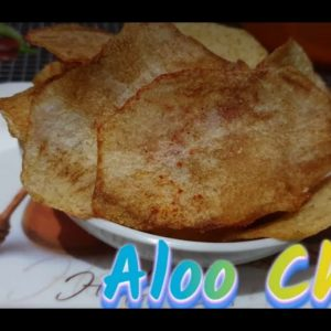 Aloo chips by vandana #*aloochips#