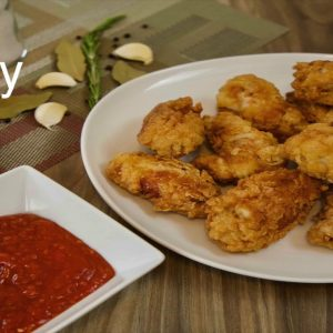 BEST FRIED CHICKEN WINGS tasty dinner recipe