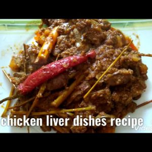 Chicken liver with coconut milk recepi