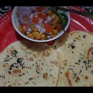 Delhi's special Matar chole kulche ...Famous street food...by Vandana. #matarcholekulche#