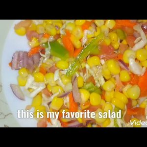 Corn salad healthy for all