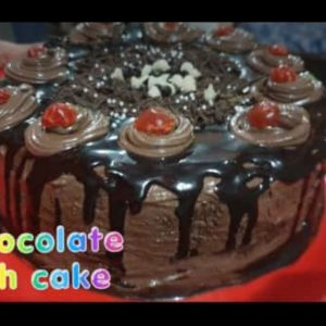 Homemade yummy and delicious chocolate rich cake by vandana...#*chocolatecake#