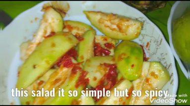 Guava salad spicy