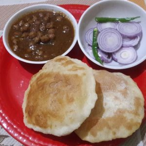 Learn how to make instant bhature chole at home।।instant chole bhature by vandana