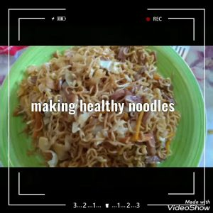 Healthy noodles recipe