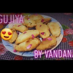 Holi special mawa gujiya by vandana...Made without mould ... #*mawagujiya#