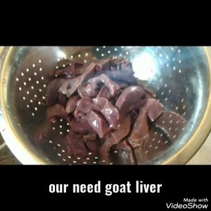 How I made liver goat recipe my version  ,👌