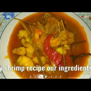 How I made my shrimp recipe simple but yummy