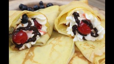 How To Make Crepes│Easy Crepe recipe