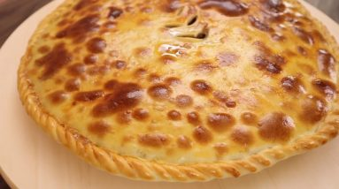Ishlekli (Turkmen Meat Pie)