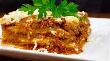 LASAGNA .  how to cook lasagna ,or   italian food