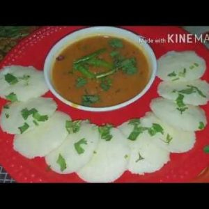 Learn how to make rava idli and instant sambhar by vandana #*idlisambhar#