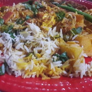 learn how to make veg biryani by vandana