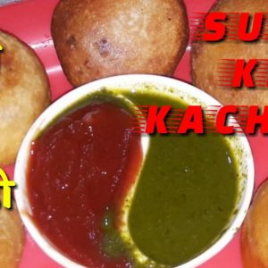 Suji (rava) ki kachori ।।crispy snack recipe for breakfast ।।suji ki kachori by vandana