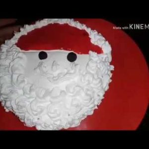 CHRISTMAS DAY SPECIAL SANTA CLAUS CHOCOLATE BISCUITS CAKE BY VANDANA #*SANTA CLAUS CAKE#