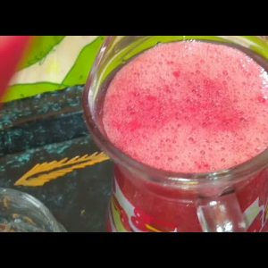 Perfect strawberry juice only 3 ingredients you need very tasty