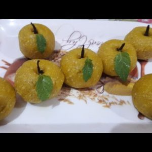 Rakhi special laddu || Apple Laddu by Vandana