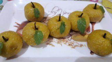 Rakhi special laddu || Apple Laddu by Vandana