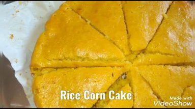 Rice Corn Cake