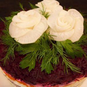 Russian Herring Under Fur Salad Recipe (Shuba)
