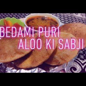 Mathura special Bedami puri and aloo ki sabji by vandana #*bedamipurialookisabji#
