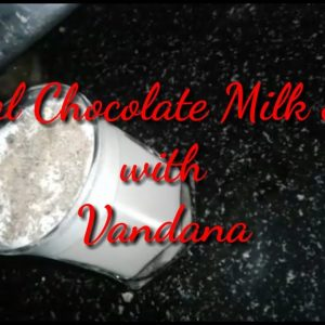 Special Chocolate Milk Shake || Chocolate milk shake with Vandana