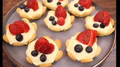 The BEST Fruit Tart Recipe