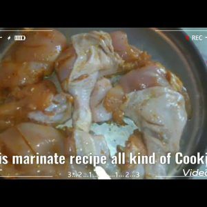How I marinate chicken easy and any kind of Cooking you like,😊