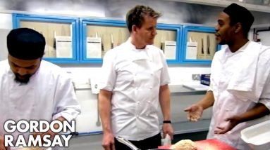 Gordon Finds Out One Of His Convict Bakers Hasn't Showered In 3 Days | Gordon Behind Bars