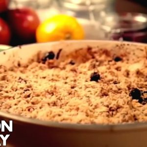 Apple and Cranberry Crumble | Gordon Ramsay