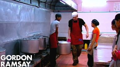Gordon Ramsay Learns How To Make A Pork & Pumpkin Curry In Cambodia | Gordon's Great Escape