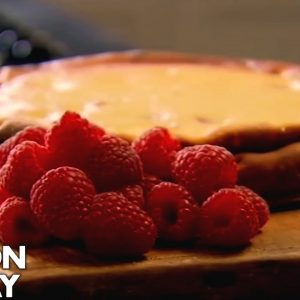 Baked Raspberry and Lemon Cheesecake | Gordon Ramsay