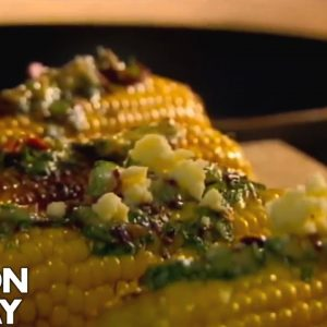 Charred Corn with Chipotle Chilli Butter | Gordon Ramsay