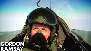 Cooking for RAF Pilots | Gordon Ramsay