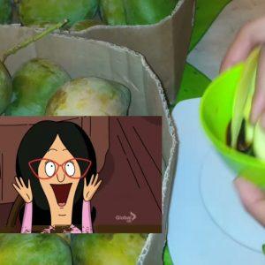 Dalawa  karton ng mangga mukbang maubus ko kaya let try