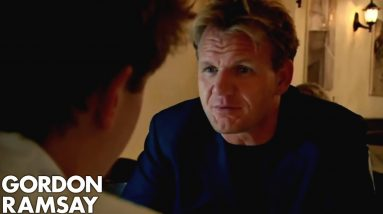Gordon Finally Impressed with Cocky Chef | Gordon Ramsay