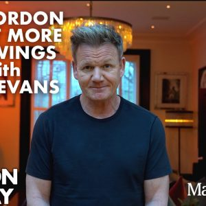 Gordon Ramsay Announcement featuring Hot Wings & Sean Evans