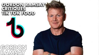 Gordon Ramsay Critiques Fan's TikTok Recipes