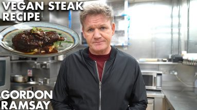 Gordon Ramsay Goes Vegan...for steak???