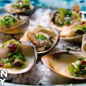 Gordon Ramsay Helps Prepare Clams In Vietnam | Gordon's Great Escape