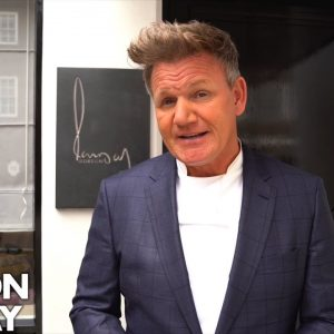 Gordon Ramsay Looks Back At 22 Years of His Flagship Restaurant