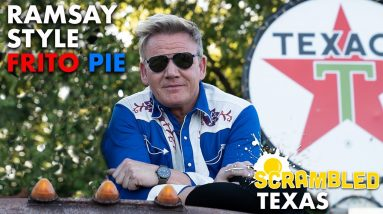 Gordon Ramsay Makes a Frito Pie Trackside in Texas | Scrambled