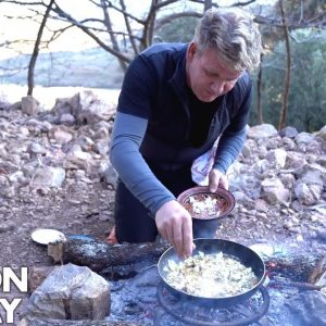 Gordon Ramsay Makes A Mushroom Omelette In Morocco | Scrambled