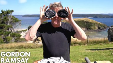 Gordon Ramsay Makes Abalone Scrambled Eggs In New Zealand | Scrambled