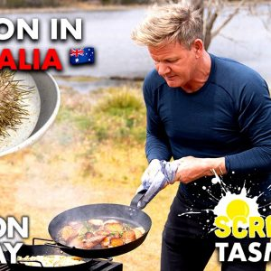 Gordon Ramsay Makes Sea Urchin Scrambled Eggs in Australia | Scrambled