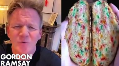 Gordon Ramsay Roasts Donut Bread