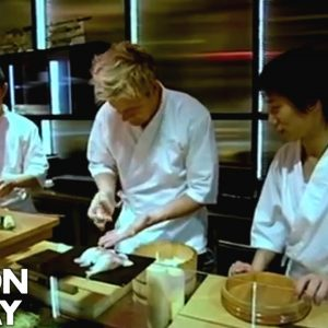 Gordon Ramsay Struggles to Make Sushi | Gordon Ramsay