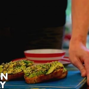 Gordon Ramsay's Avocado on Toast with a Twist